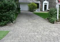 Gray Driveway & Walkway