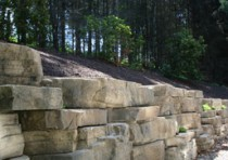 Rosetta Outcropping Retaining Wall